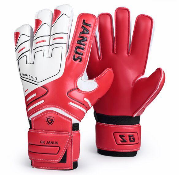Janus finger protective 7~10 size football goalkeeper gloves soccer gloves godie(China (Mainland))