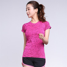 Buy Summer Sexy Women Workout Quick Dry Fitness Tops Tank Exercise Women's Clothing T-Shirt Female Vest Tee Singlets Clothes for $7.99 in AliExpress store