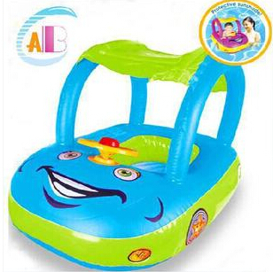Tent children horn boat swim ring for baby infant car seat float the boat upset(China (Mainland))