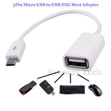 16cm Micro USB OTG Sync Data Connect Adapter Host Cable for Chuwi Hi8 Hi10 Vi8 Vi7 Vi10 Pro V17HD 3G VX8 Tablet OTG Adapter