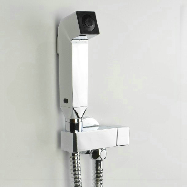 Shower Head That Hooks To Faucet Chromed Hand Square Shower Head Kit With Hose Hook