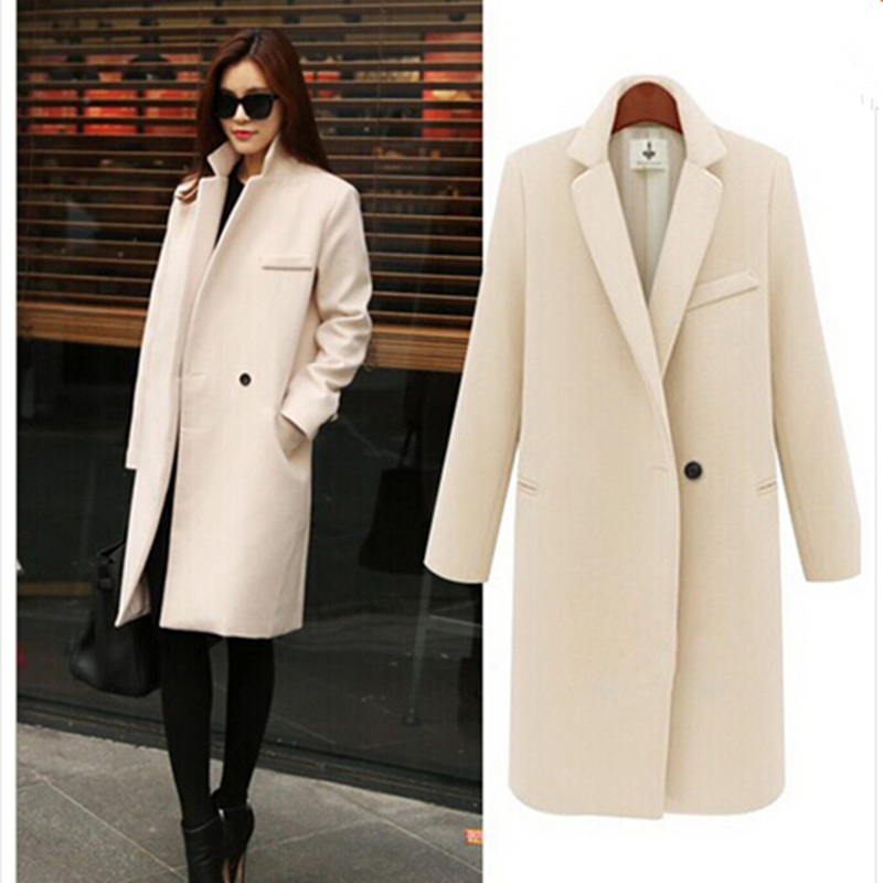 Online Get Cheap Women Elegant Black Coat Winter -Aliexpress.com ...