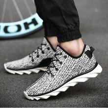 2015 High quality new yeezies men shoes Spring autumn lace up casual Casual canvas fashion shoes Breathable rubber shoes
