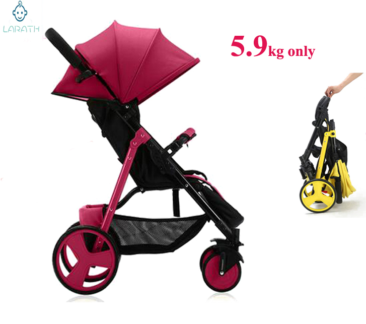 Free Shipping Foldable Travel Baby Stroller Lightweight Carriage Buggy Pushchair Pram Newborn Baby Trolley With Cheap Price(China (Mainland))