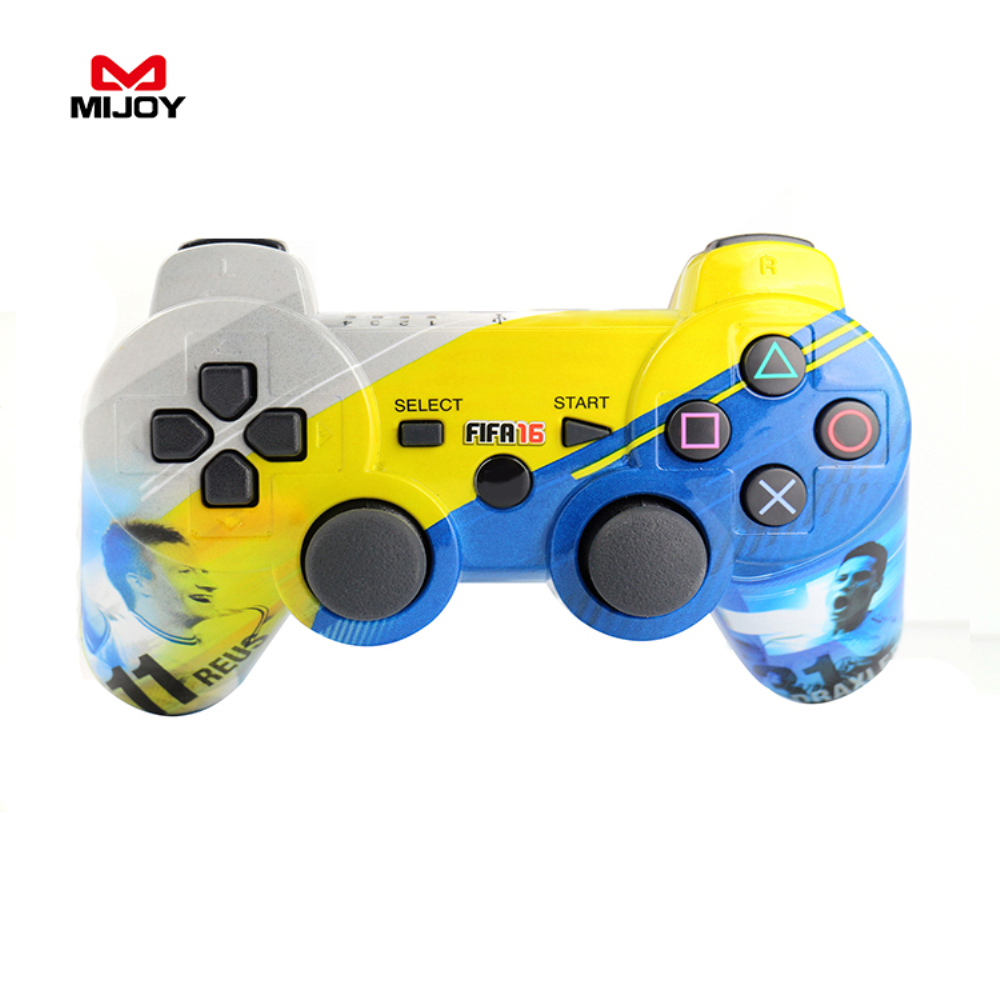 MIJOY SIXAXIS Wireless Game Controller For PS3 Controller Dual Vibration Joystick Joypad Gamepad For Playstation 3 Soccer Joypad(China (Mainland))