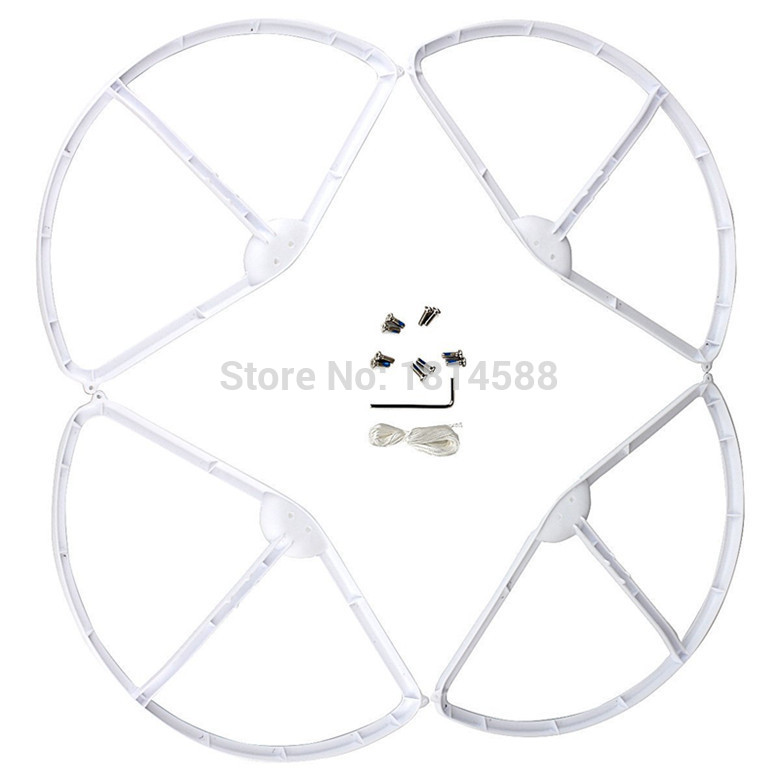 DJI Phantom 3 aerial four axis aircraft blade protection ring propeller protector WLtoys V303 white protective ring parts