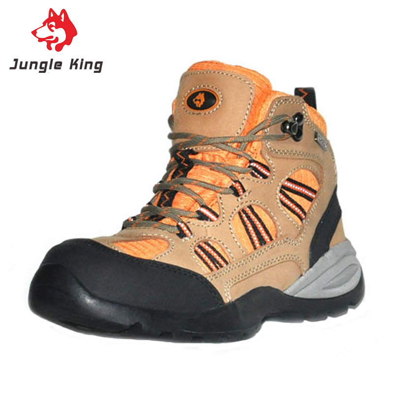 Jungle King Zapatillas Mujer Outdoor Trekking Hiking Shoes Woman Non-slip Rubber Sole Sneakers Chaussure Randonnee Etanche(China (Mainland))