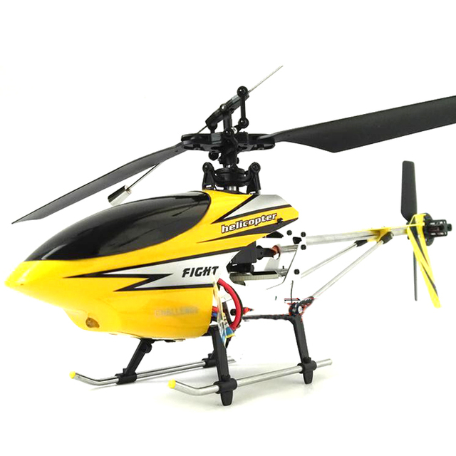 Remote control four channel single propeller helicopter model of spinning top instrument 803 birthday gift