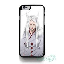 Fit for iPhone 4 4s 5 5s 5c se 6 6s 7 plus ipod touch 4/5/6 back skins cellphone case cover NARUTO KAGUYA OTSUTSUKI