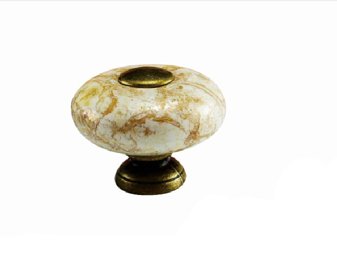 Buy 2pcs 26mm marble ceramic knobs for Painted ceramic cabinet knobs