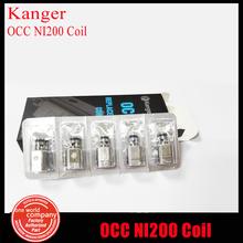 10pcs/lot Authentic Kanger tech NI200 0.15ohm Subtank/Subtank Mini  OCC NI200 Coil