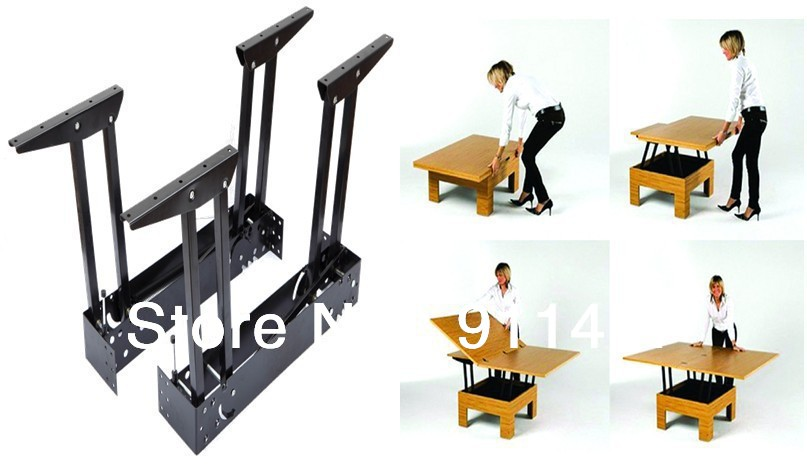 hot sale space-saving lift top coffee table mechanism/folding table mechanism/extending table mechanism(China (Mainland))