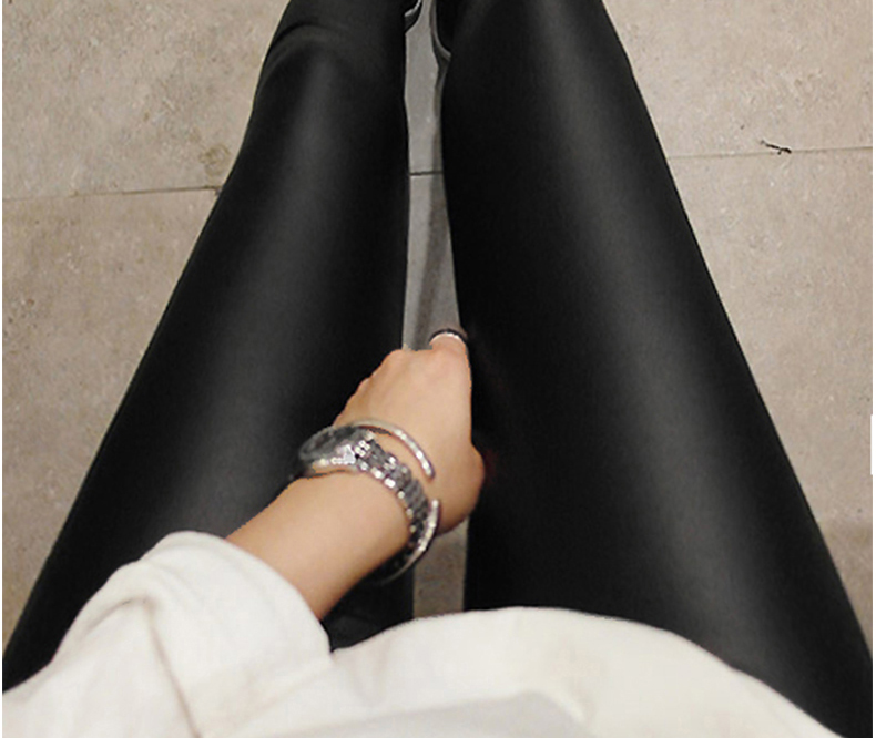 Popular genuine leather leggings buy cheap genuine leather for What is faux leather to real leather