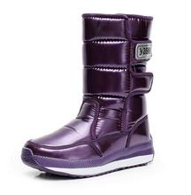 2015 nuevo Otoño invierno de terciopelo hasta la rodilla a prueba de agua zapatos de plataforma de algodón acolchado térmico botas de nieve invierno de las mujeres(China (Mainland))