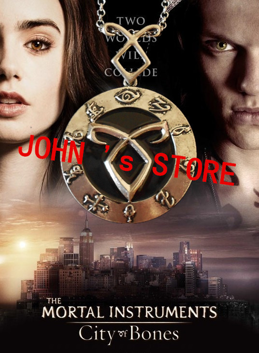 Freeshipping wholesale 20PC a lot The Mortal Instruments: City of Bones Angelic Power Necklace DDF011<br><br>Aliexpress