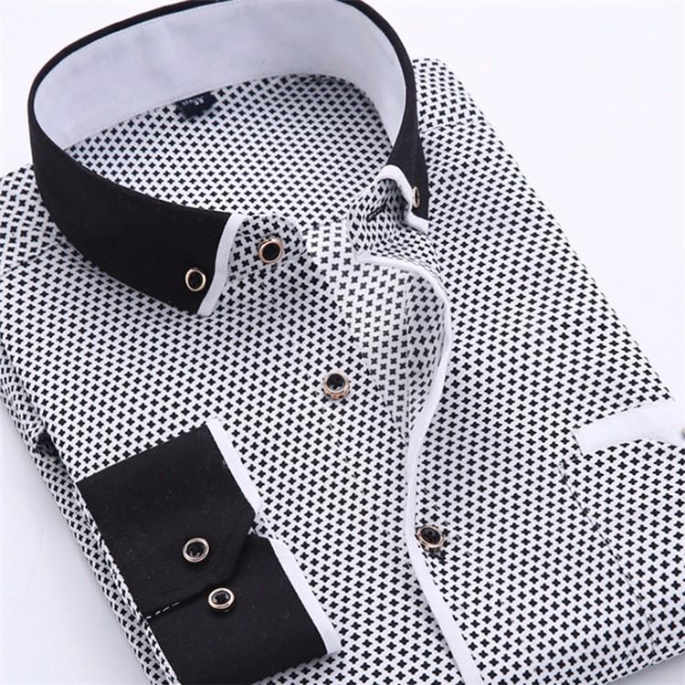 HTB1nsNbJVXXXXaaaXXXq6xXFXXXl - Big Size 4XL Men Dress Shirt 2016 New Arrival Long Sleeve Slim Fit Button Down Collar High Quality Printed Business Shirts M014