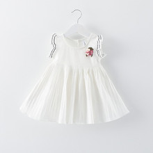 new 2016 summer sold girls tutu dress for baby princess clothes flower infants baby dress casual toddler girl party dreses