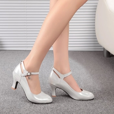 Modern dance shoes sneakers square dancing shoes for women Latin shoes soft bottom heels adult female head of friendship<br><br>Aliexpress