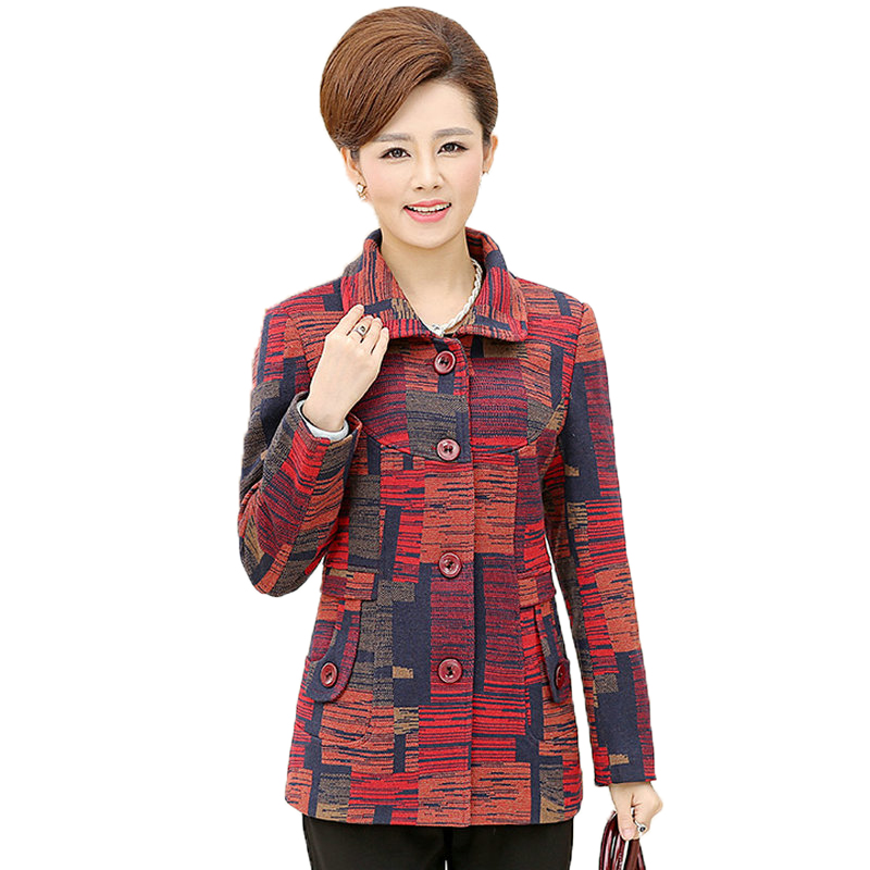 Popular Plaid Blue Coat Women-Buy Cheap Plaid Blue Coat Women lots ...
