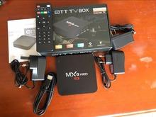 MXQ Pro 5pcs dhl Amlogic S905 ott TV Box Android 5.1 Quad Core DDR3 1G Flash 8G HDM2.0 mxq pro 4K tv box android 5.1 mxq lot