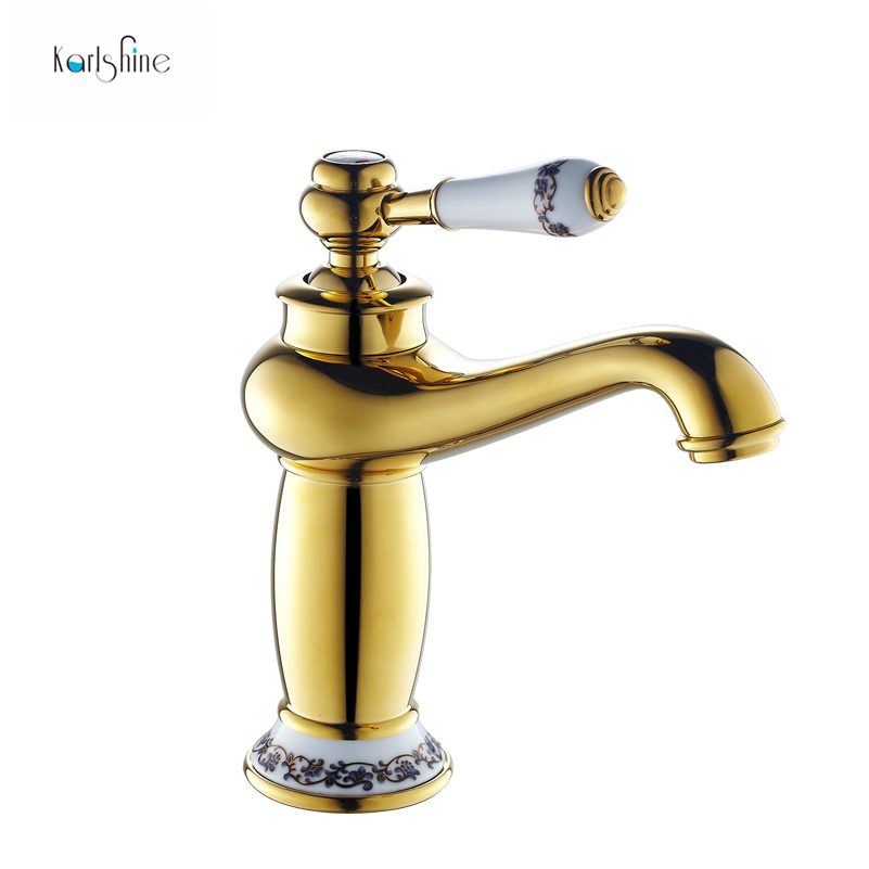 Chrome And Gold Bathroom Faucets : -gold-bathroom-faucet-antique-copper-faucet-brass-chrome-bathroom ...