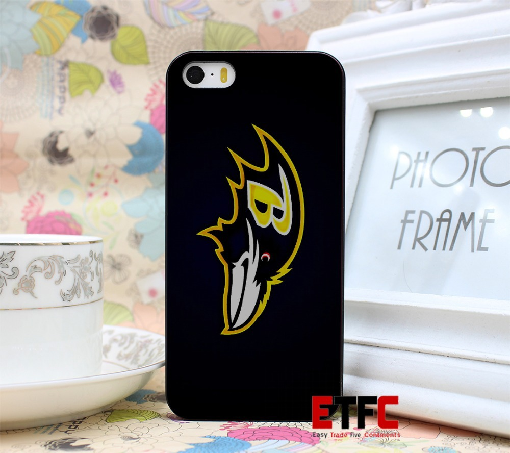 Baltimore ravens sports footbal New Fashion Design Hard Black Skin for iPhone 5 5s 5g Case Cover(China (Mainland))