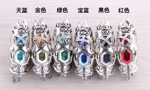 Promotion Katekyo Hitman Reborn Anime Vongola Revolving Jewelry Rings Cosplay Jewelry 6 colors(China (Mainland))
