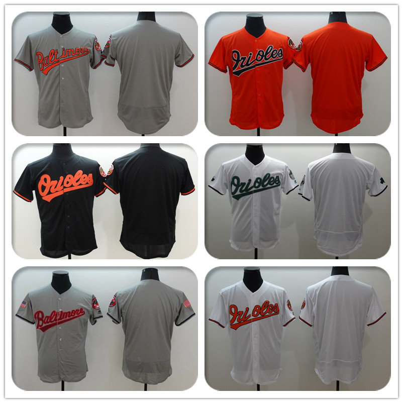 New Fabric Custom Men & Women & Youth Personalized Stitched Throwback 2016 Memorial Day Jerseys Color White Orange Gray Black(China (Mainland))