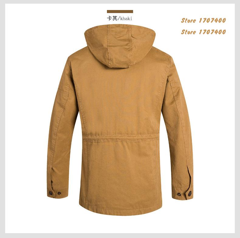 2015 Spring Autumn Campera Hombre  Casual Brand Aeronautica Militare  Zipper Hooded Man Jacket  Outdoor Mens Jackets And Coats