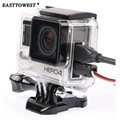 Easttowest For Gopro Accessories Side Open Skeleton Housing for GoPro Hero 4 3