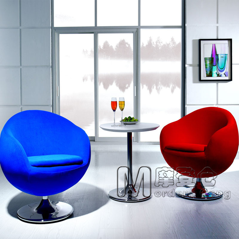 Modern warehouse egg chair egg chair sofa living room sofa for Round sofa chair living room furniture