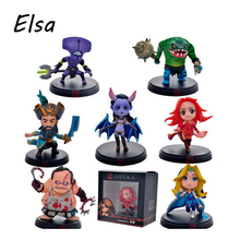 Original Dota2 Action Figure Faceless Void Lina Coco Leviathan Pudge Collection Kids Toys WJ045