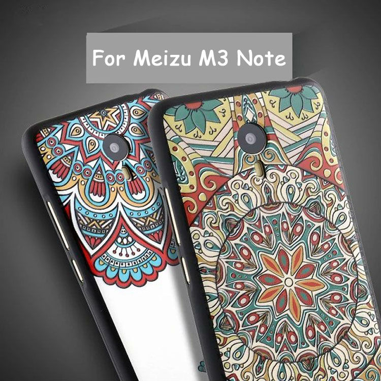 For Meizu M3 Note Slim Soft TPU Silicone 3D Cartoon Emboss Mobile Phone Cases Cover For Original Meizu M3note Case Shell Bag(China (Mainland))