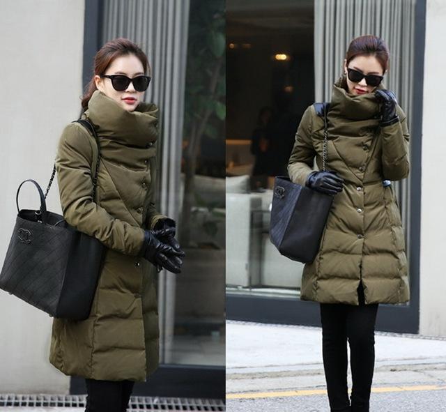 parkas for women winter 2015 New winter coat women elegant plus ...