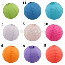 1 8''10''12''(20/25/30cm) Chinese paper lantern home party decoration wedding - Wedding Products store