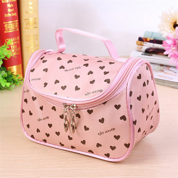 S386 2015 Lady Travel Organizer Zipper Cosmetic Bag Accessory Toiletry Cosmetic Make Up Holder Case Bag Pouch Gift