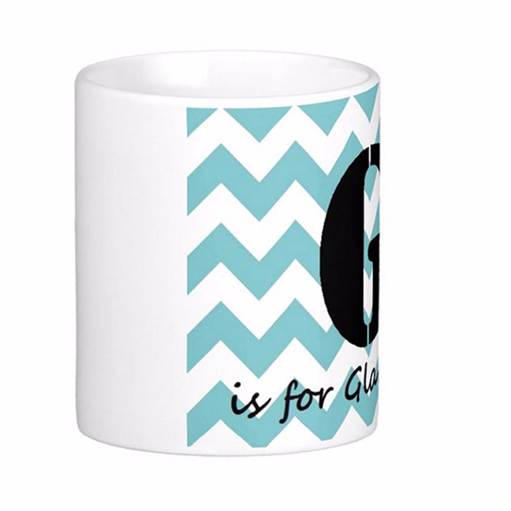 Glam-Ma White Coffee Mugs Tea Mug Customize Gift By LVSURE Ceramic Cup Mug Travel Coffee Mugs(China (Mainland))