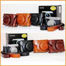 New Leather Camera Hard Case Bag Pouch Cover for Finepix Fuji Fujifilm X30 LC-X30