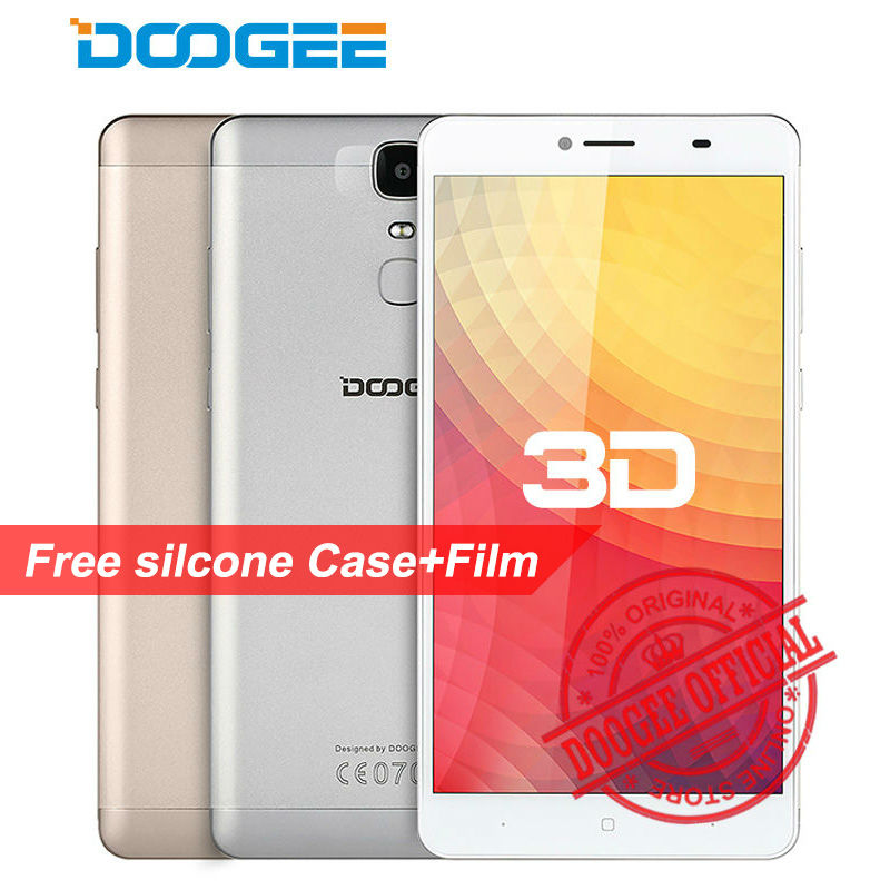 Original Doogee Y6 Max 3D 6.5 Inch Smartphone Android 6.0 MTK6750 Octa Core Mobile Phone 3GB RAM 32GB ROM Fingerprint Cell Phone(China (Mainland))