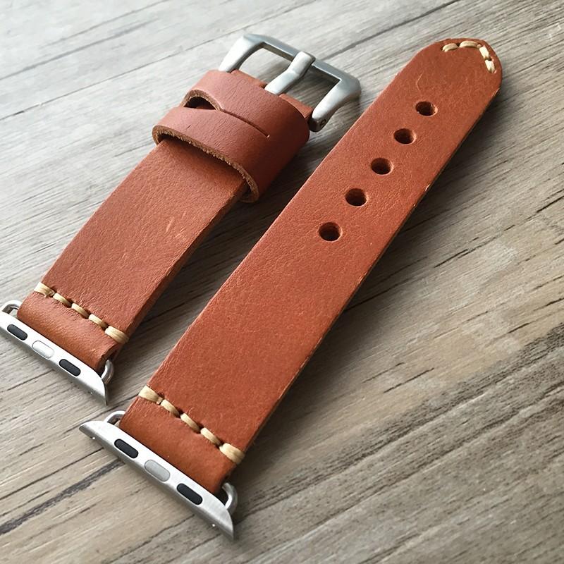 38 мм 42 мм яблоко часы группа, Ручной мягкие натуральная кожа ремешок для Iwatch яблоко часы с адаптером, Бесплатная доставка