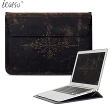 Buy iCasso Design PU Leather Wallet Protective Case Bag also used case Apple Macbook Air Retina Pro 13 Inch Sleeve Bag for $17.36 in AliExpress store