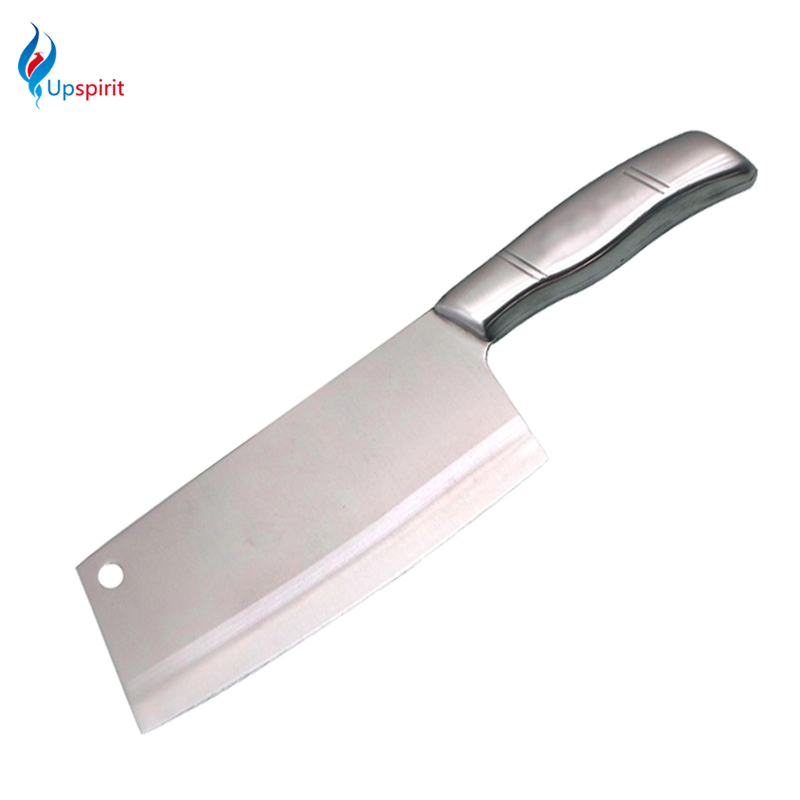 High Quality Stainless Steel Chinese Chopping Knife Frozen Meat Cleaver Kitchen Chef Cooking Knife Faca De Cozinha Kitchen Tools(China (Mainland))