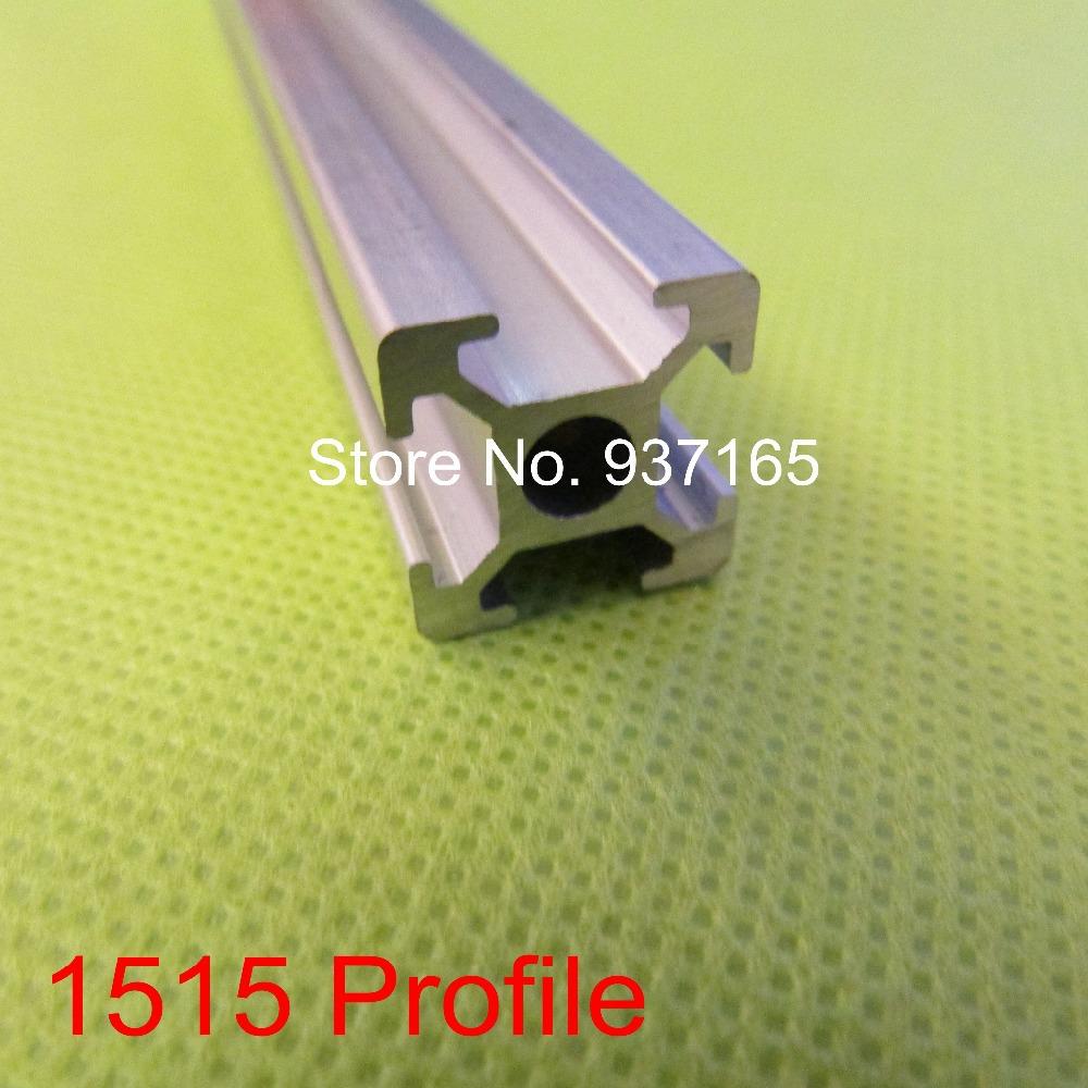 Aluminum Profile 15*15 15x15 1515 3D Printer Accessories DIY Kossel Robot Slot 6 (FREE CUTTING)(China (Mainland))