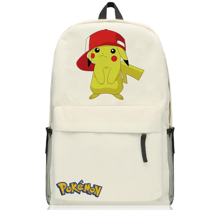 font b Pokemon b font font b GO b font Pocket Monster pikachu backpack Magic