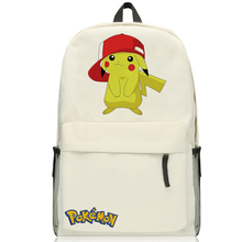 Pokemon GO Pocket Monster pikachu backpack Magic Baby pocket monster baby cartoon Picacho student bag