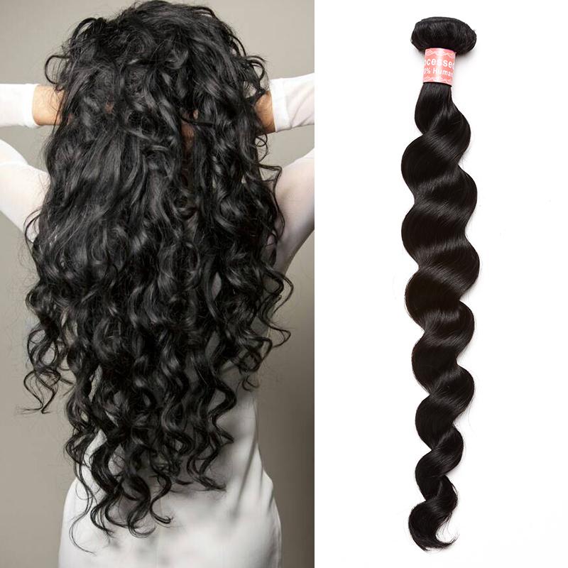 6A Peruvian Virgin Hair Extensions Loose Curly Human Hair ...