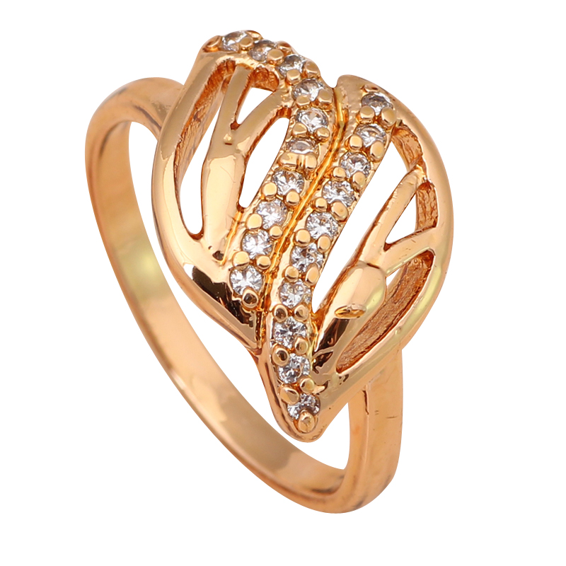 Royal Design Style AAA Zirconia 18k gold plated fashion jewelry Party Rings sz #6 #7.5 #7.75#5.75 #6.75 JR1787A(China (Mainland))