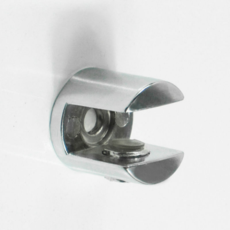 factory prices 50pcs lot zinc alloy adjustable glass shelf. Black Bedroom Furniture Sets. Home Design Ideas