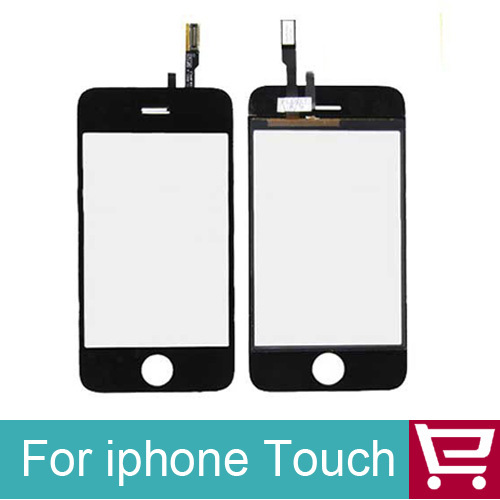 Touch Screen Glass Digitizer for iPhone 3G + Tools Kit +Touch adhesive+Free shipping Black Color(China (Mainland))