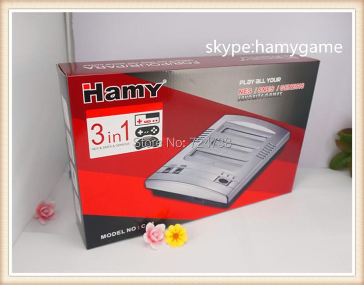 free shipment nes/snes/sega 3 in 1 TV / Video Game consoles cartridge Rom fc3plus(China (Mainland))